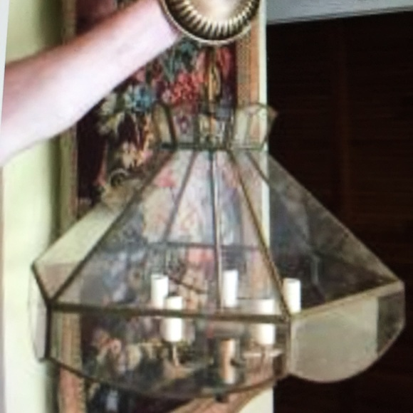 Other - Dining room lamp attached at the ceiling